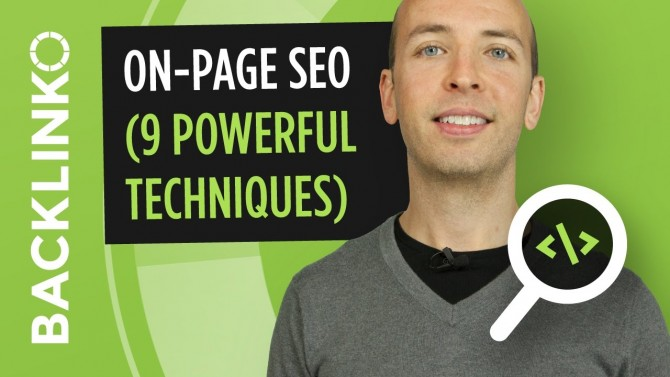 On Page SEO – 9 Actionable Techniques That Work