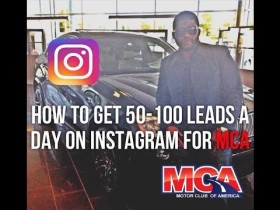 MCA Training MUST WATCH How To Get 50  100 Leads A Day On Instagram MCA